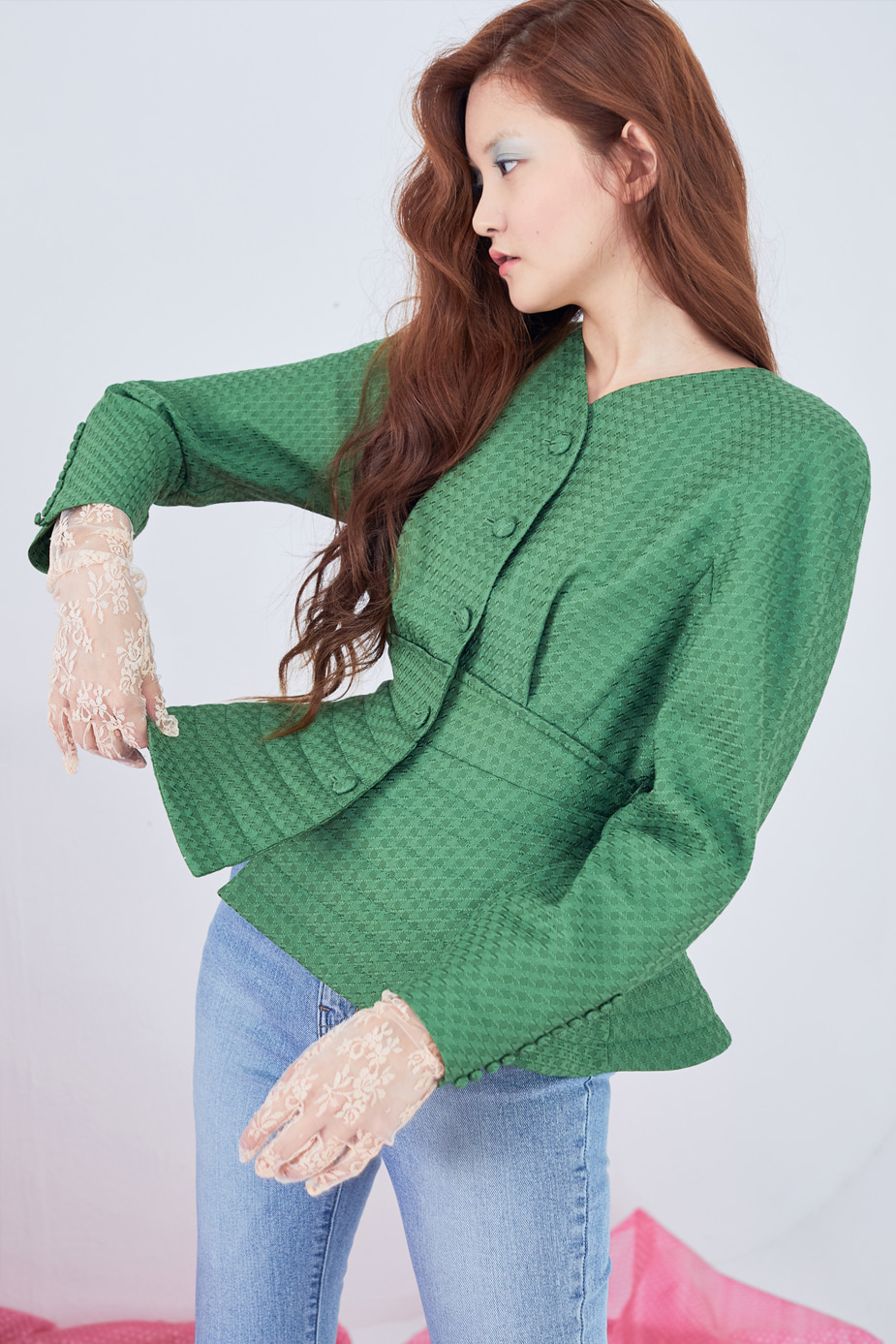 Boutique Jacket(LIGHT GREEN)
