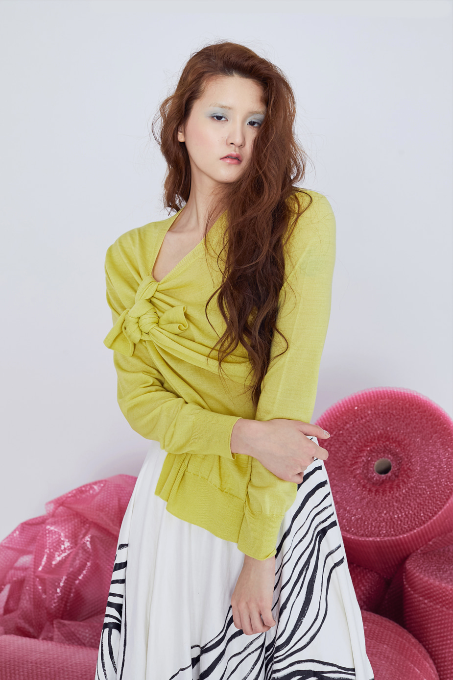Tail Knit(YELLOW)