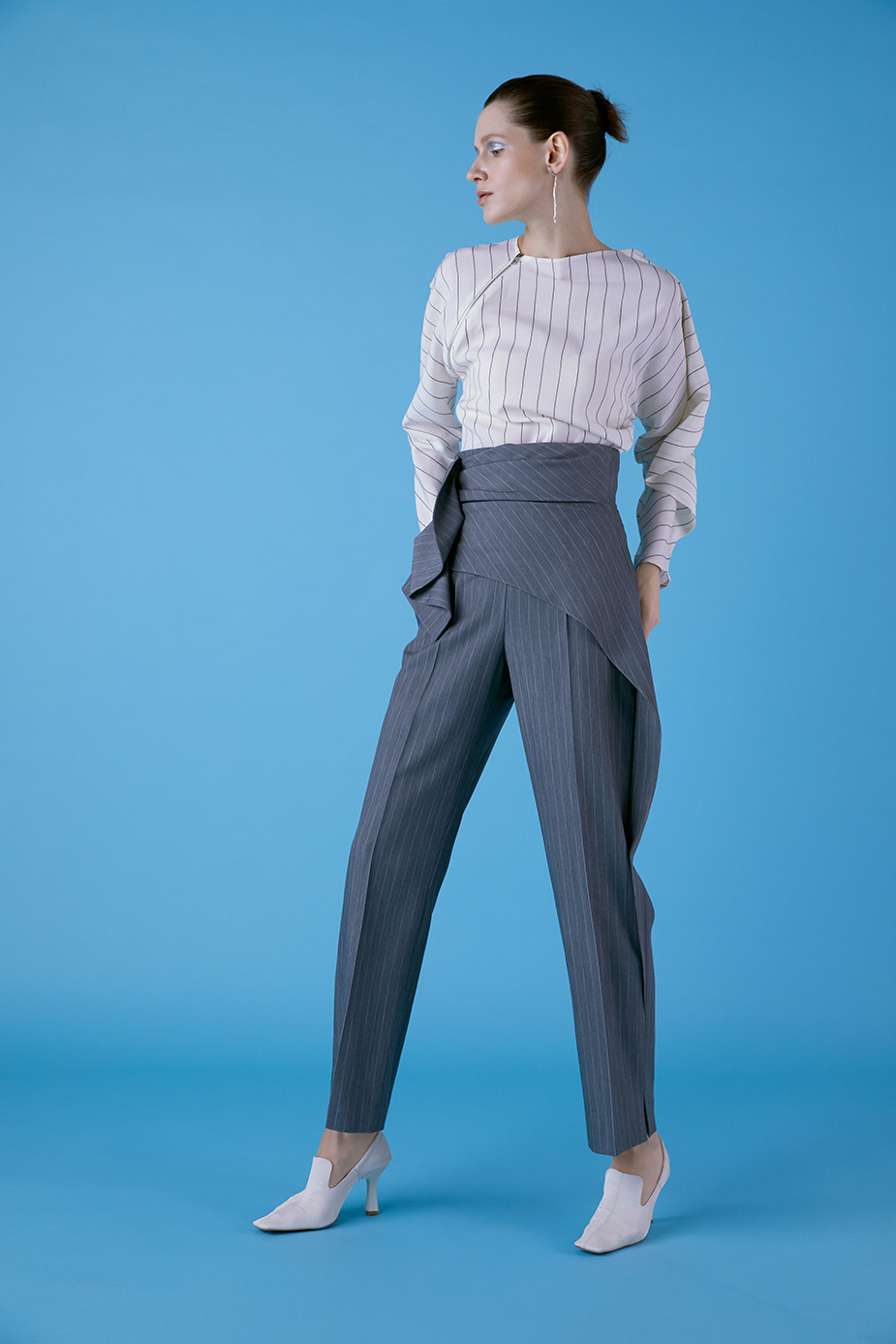 Stripe Layerd Pants