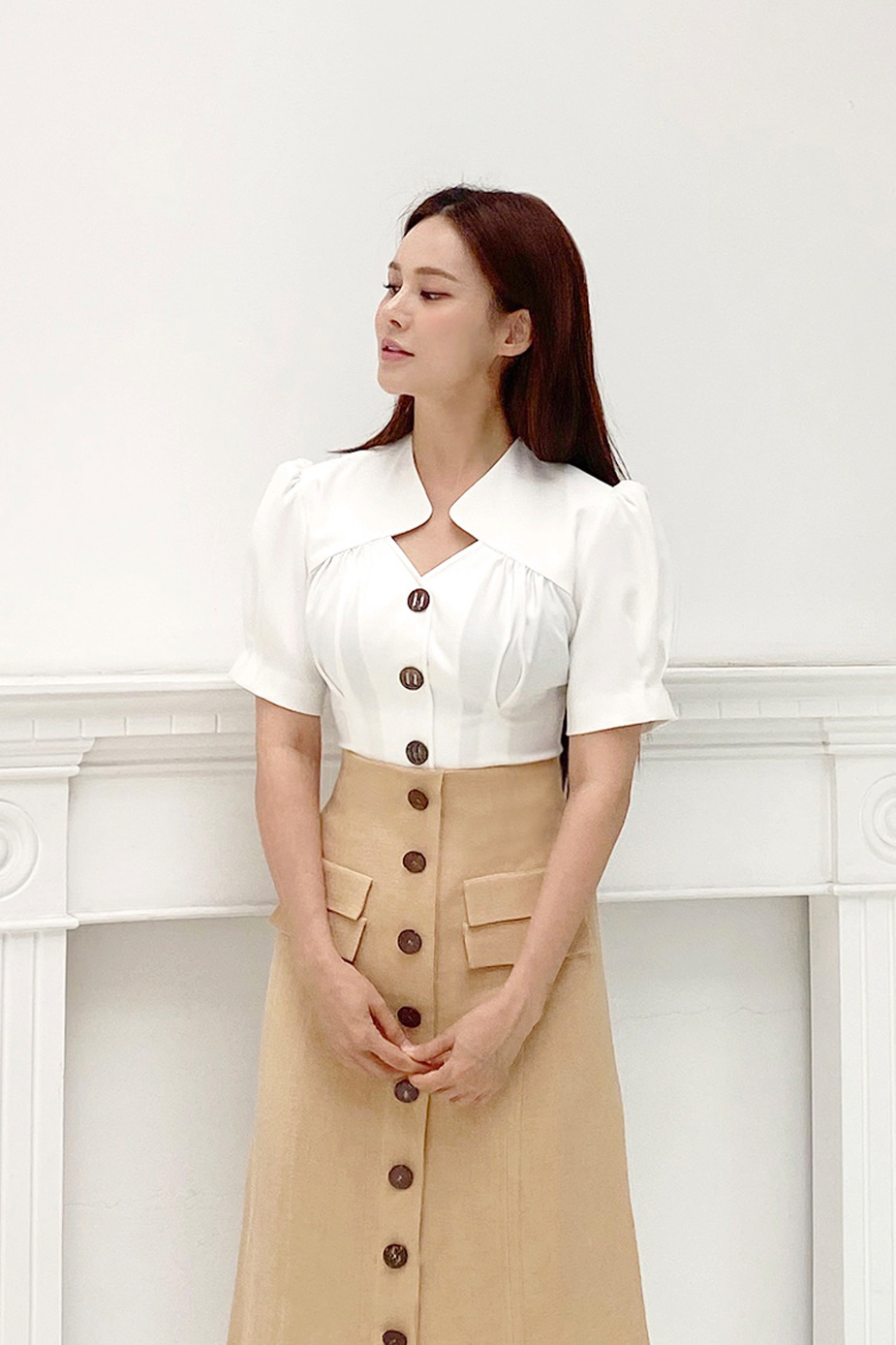 Mujer Blouse (White)