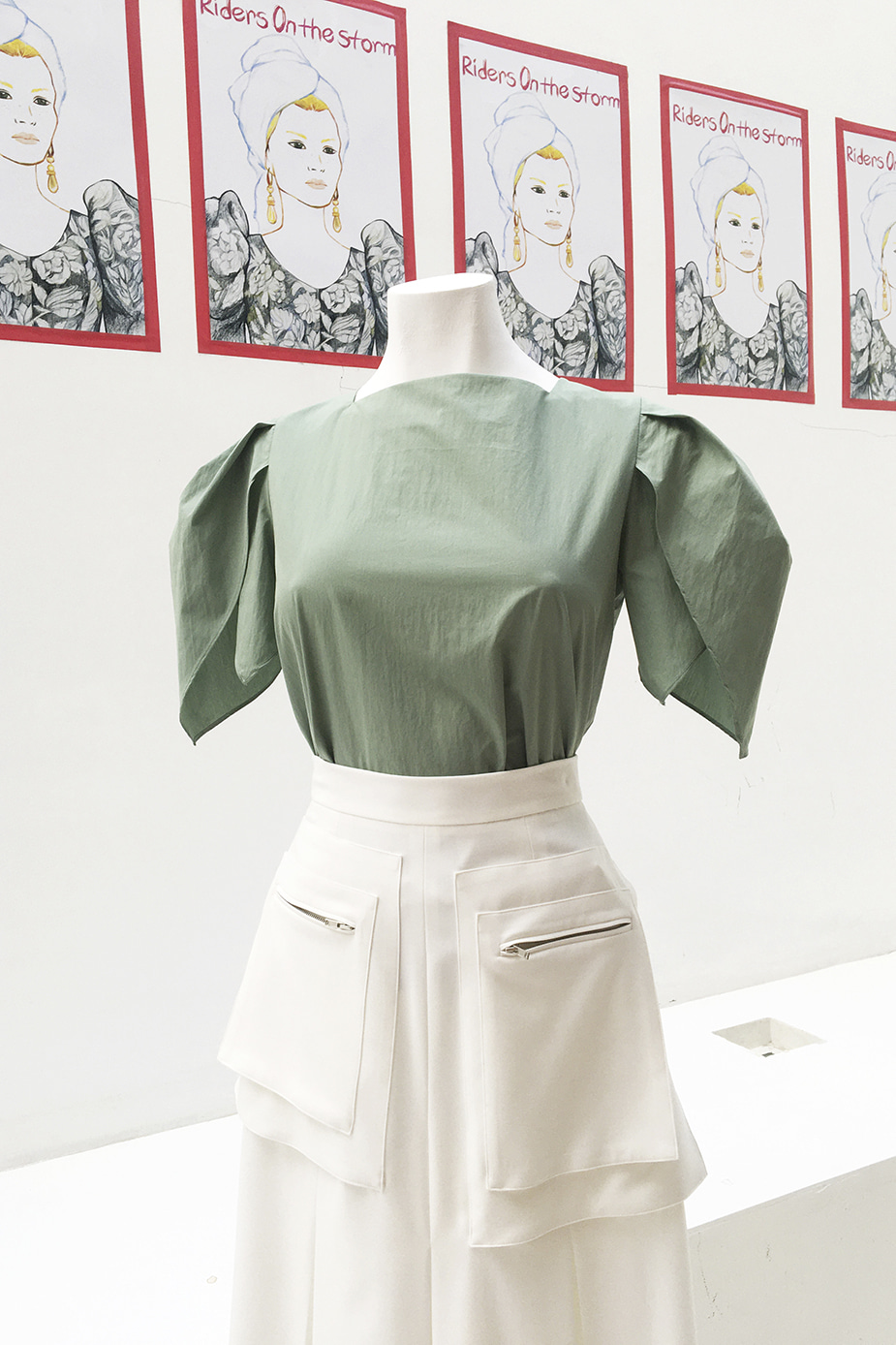Tulip Blouse(Limited Mint)