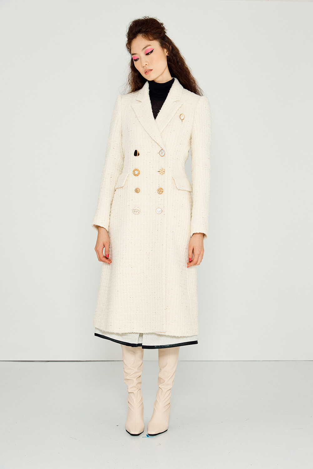 Stand Coat (IVORY)